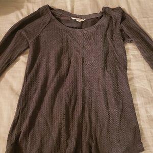 Waffle shirt long sleeved